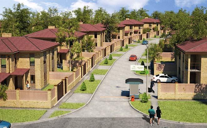 Бизнес план строительства коттеджей (поселок)