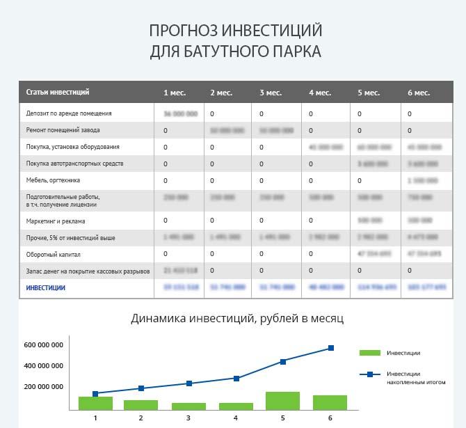 Детальный расчет инвестиций для запуска батутного парка